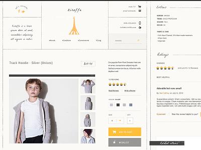 Ziraffe Product Details store apparel retail ratings reviews children product gutensite