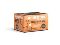 Ale Industries Golden State of Mind beer packaging