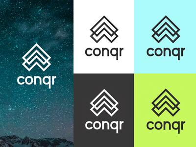 Conqr (Cancer App) logo