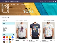 Men's tops page