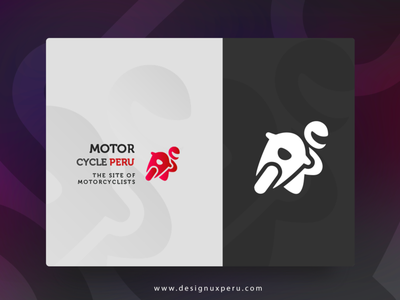 Logo Motorcycle Peru motorcycle illustration material design brand logo