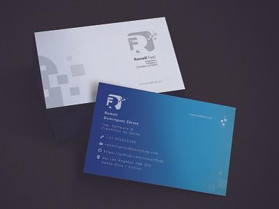 Bussines Card present materialdesign branding design brand typography illustration flat designux material design
