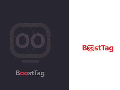 Boosttag Logo peruvian company design typography vector designux logo a day identy logo