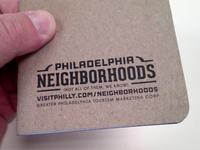Neighborhoods Notebook