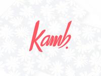 Kamb logo design