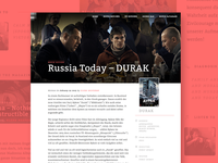 Film review page - Made in Webflow