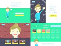 E-Learning app concepts