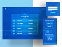 Olympique de Marseille Responsive Screens