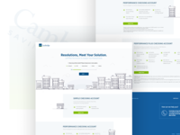 Cambridge Savings - Checking Account Quiz UI
