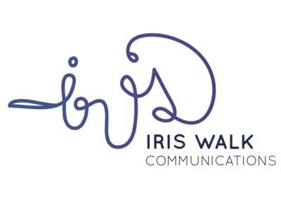 Iris Walk Communications - logo concept