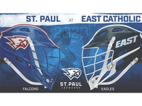 St. Paul Boys Lacrosse 2020 Matchup Graphics