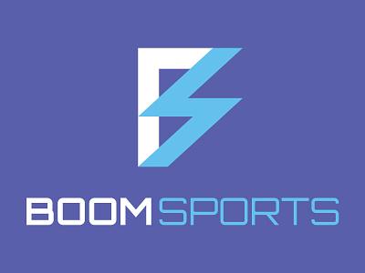 Boom Sports Logo branding update brand identity vector illustrator logo design sports