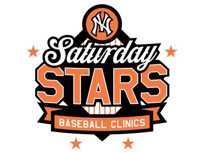 North Vallejo Saturday Stars Baseball Clinics logo design icon update illustrator illustration brand identity sports