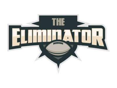 The Eliminator Logo - ESPN logo design icon update illustrator illustration brand identity sports espn football