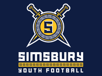 Simsbury Trojans Concept logo