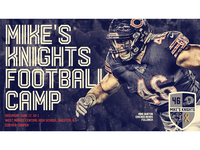 Mike's Knights Football Camp