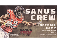 Sanu's Crew Football Camp