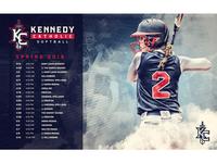 2018 Kennedy Catholic Softball Schedule