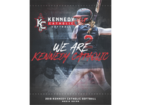 2018 Kennedy Catholic Softball Media Guide Cover