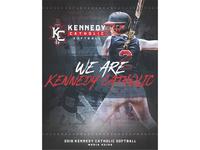 2018 Kennedy Catholic Softball Media Guide Cover