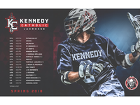 2018 Kennedy Catholic Lacrosse Schedule