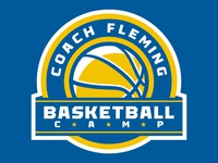 Coach Fleming Basketball Camp Logo