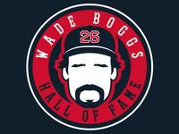 Official Wade Boggs Logo