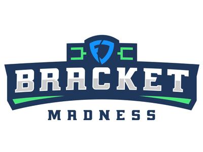 FanDuel Bracket Madness logo design vector identity brand basketball sports logo
