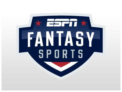 ESPN Fantasy Sports logo vector illustrator identity brand sports espn fantasy