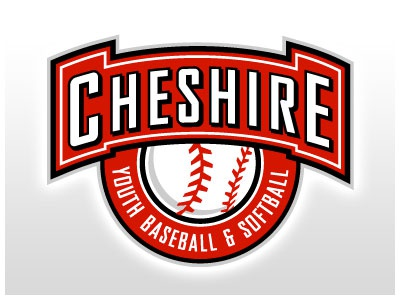 Cheshire Youth Baseball logo vector illustrator identity brand sports youth baseball cheshire ct connecticut