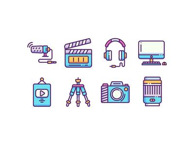 Content Creator Icons