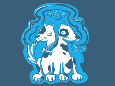 Madison Ruby Tshirt 2016 two-headed freakshow dogs