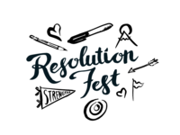 Resolution Fest Logo and Illustrations
