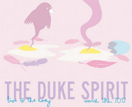 The Duke Spirit Band Poster