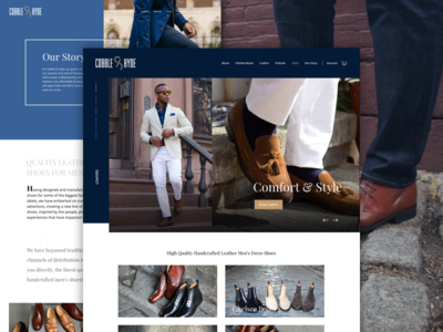 Shoe Company Ecommerce Redesign