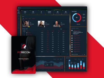Coaching Analytics App splash dashboard analytics webapp sports fitness coaching