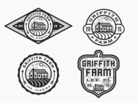 Griffith Farm - Logo Mark Options