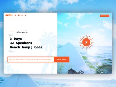Code On The Beach Landing code on the beach landing surf beach code