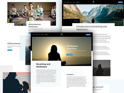 Withinward.org Launch launch breathing meditation web website landing