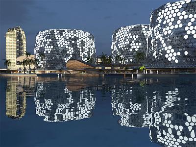 S2W - Dubai render contest vizualization dubai expo