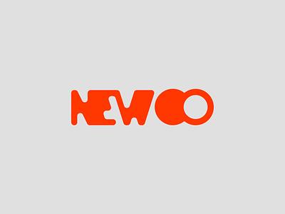 newco typography symbol sketch pencil monogram mark logotype logo letter
