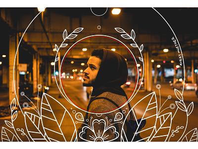 Grow. growler floral design linework urban photo editing photo edit photo photography