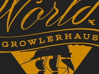 Growler shop logo