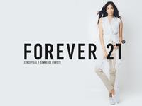 Forever 21 an E-commerce website