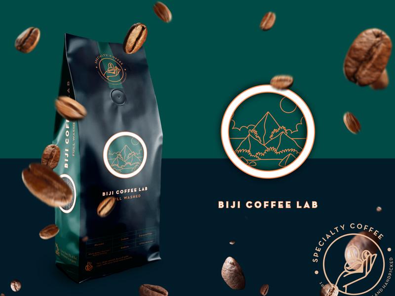 Biji Coffee Lab - Coffee Packaging branding design coffee bean creative design packaging design