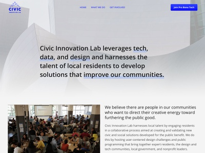 Civic Innovation Lab community nonprofits non profit non-profit nonprofit civictech ui  ux ui mobile ui mobile web marketing branding design