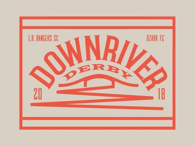 Downriver Derby - secondary mark