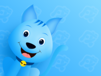 蓝狗卡通2.0版
