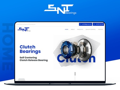 Snt Bearings - Website Design