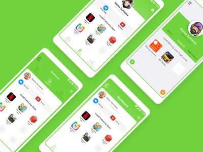 Dashboard - app UI Design